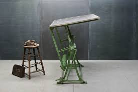 Drafting Table Uk Industrial Cast Iron Drafting Table Modern50 A Non Linear
