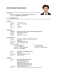 Comprehensive Resume Sample by Sample Resume Format Nurses Philippines Corpedo Com