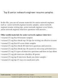 Network Design Engineer Resume Download Senior Network Engineer Sample Resume