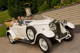 rolls royce vintage convertible car hire