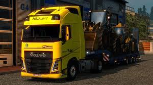 big volvo truck hammerle skin for volvo fh16 v1 truck skin ets2 mod