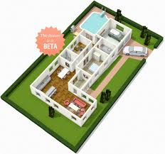 House 3d Floor Plans Floorplanner Create Floor Plans House Plans And Home Plans Online