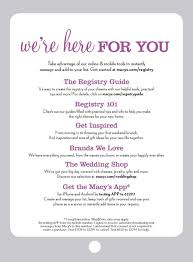 wedding gift registry message advertising marketing kaitlyn dreyling