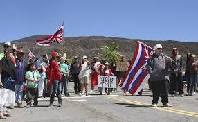 Image Of Hawaiian Flag Mauna Kea Protectors Hawaiian Kingdom Blog