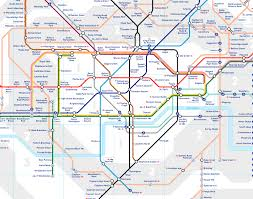 London Canada Map by London Underground Releases A Geographically Accurate Tube Map