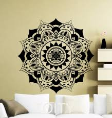 Lotus Flower Wall Decal Om by Aliexpress Com Buy Mandala Wall Sticker Mehndi Ornament Yoga