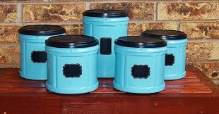 funky kitchen canisters revive empty folgers coffee containers as funky kitchen canisters