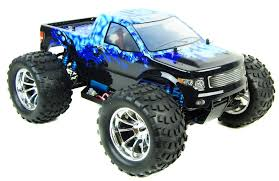 bug crusher electric rc monster truck blue ice car