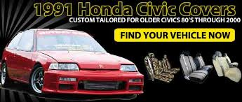 covers only the best for your 1991 honda civic custom fit seat