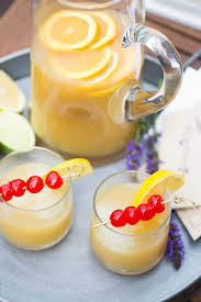 whiskey sour party punch recipe whiskey sour punch recipes
