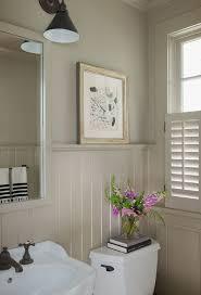 bathroom ideas with beadboard bathroom wainscoting small bathroom adorable ideas pictures