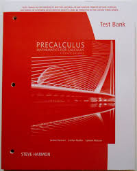 test bank only precalculus mathematics calculus 7th 7e edition