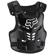 motocross safety gear fox proframe lc black body armour at mxstore