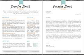Single Page Resume Template One Page Resume Exle Easy Resume Template Free To Get Ideas