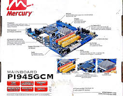 mercury pi945gcm supported graphic cards techspot forums