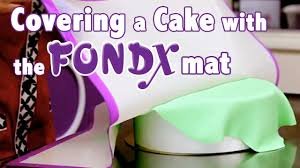 how to cover a cake in rolled fondant cake tutorials youtube