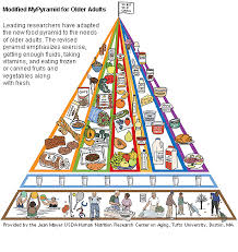 over 70 adults get new food pyramid