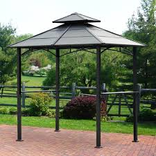 patio furniture gazebo marvelous hard top metal gazebo canopy 10x12 outdoor tent gazebos