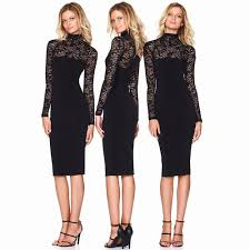 clubbing clothes lace dresses sleeve midi dress women clubbing wear midi