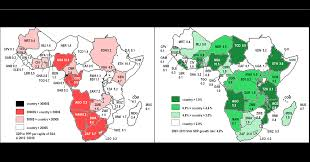 Africa Map Of Countries by Cepii Growth And Population Dynamics In Sub Saharan Africa