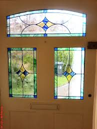 stained glass for front door crinken glass