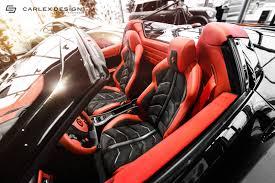 458 Spider Interior Carlex Ferrari 458 Spider Final Interior 9