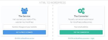 how to convert html website to wordpress free guide