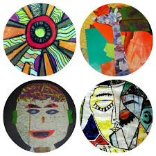 Cool Art Project Ideas by 4 Kids U0027 Collage Projects Art For Kids And Robots
