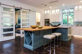 blue kitchen islands 50 gorgeous kitchen island design ideas homeluf