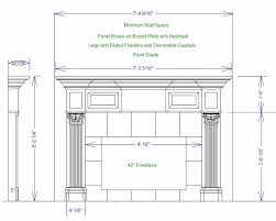 fireplace mantel shelf plans free image mag