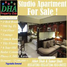 500 Square Feet Room 500 Square Feet Apartment For Sale In Dha Phase 5 Karachi Aarz Pk