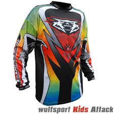 motocross boots for kids wulfsport 2017 attack kids cub race motocross motorbike shirt