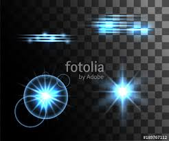 ring light effect app set of blue vector light effects glowing light rings with particles