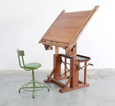 Antique Wooden Drafting Table by Impressive Industrial Wooden Drafting Table Vintage Design Point