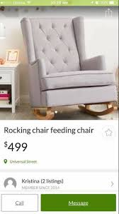 Maternity Rocking Chair People Are Trying To Sell The 200 Aldi Rocking Chair On Gumtree