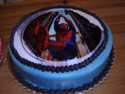 dream of cakes spiderman cake easy to make