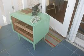 Cool Wood Furniture Ideas Thrift Store Table Makeover Paint Wood Furniture C R A F T