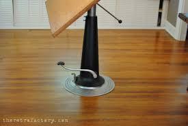 adjustable height drafting table vintage industrial nike adjustable drafting table desk pub table