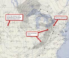 Radar Map For Michigan by Snow Bowl November 25 1950