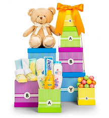baby gift baskets delivered new arrival baby gift tower