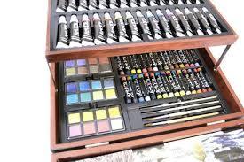 art 101 156 piece artist u0027s suite painting u0026 drawing set art bazaar