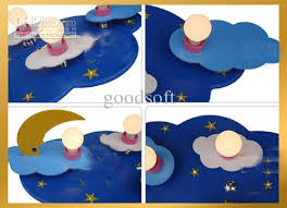Child Chandelier Discount Fumat New Modern Led Cloud U0026 Moon Glass Kid Child Bedroom
