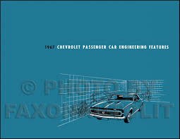 1967 chevrolet car assembly manual impala ss bel air biscayne caprice
