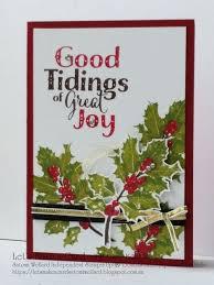 good tidings christmas card satomi wellard independent stampin u0027up