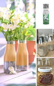 Mercury Glass Vases Diy Two Toned Mercury Glass Milk Bottle Vase Casa Watkins Living