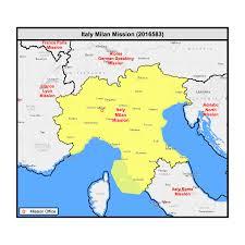 Brescia Italy Map by Sorella Carter Milano Italia