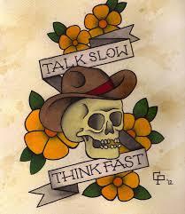 28 traditional cowboy tattoos