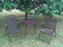 High Patio Table And Chairs Patio Table High Patio Set With Wicker Patio Material And High