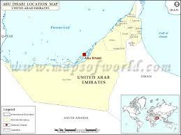 map of abu dabi where is abu dhabi location of abu dhabi in united arab emirates map
