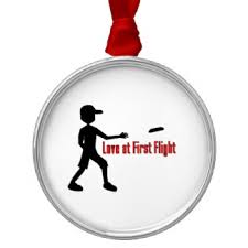 ultimate frisbee sports tree decorations ornaments